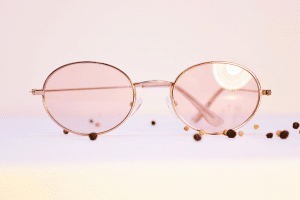 Dusted Pink Glasses